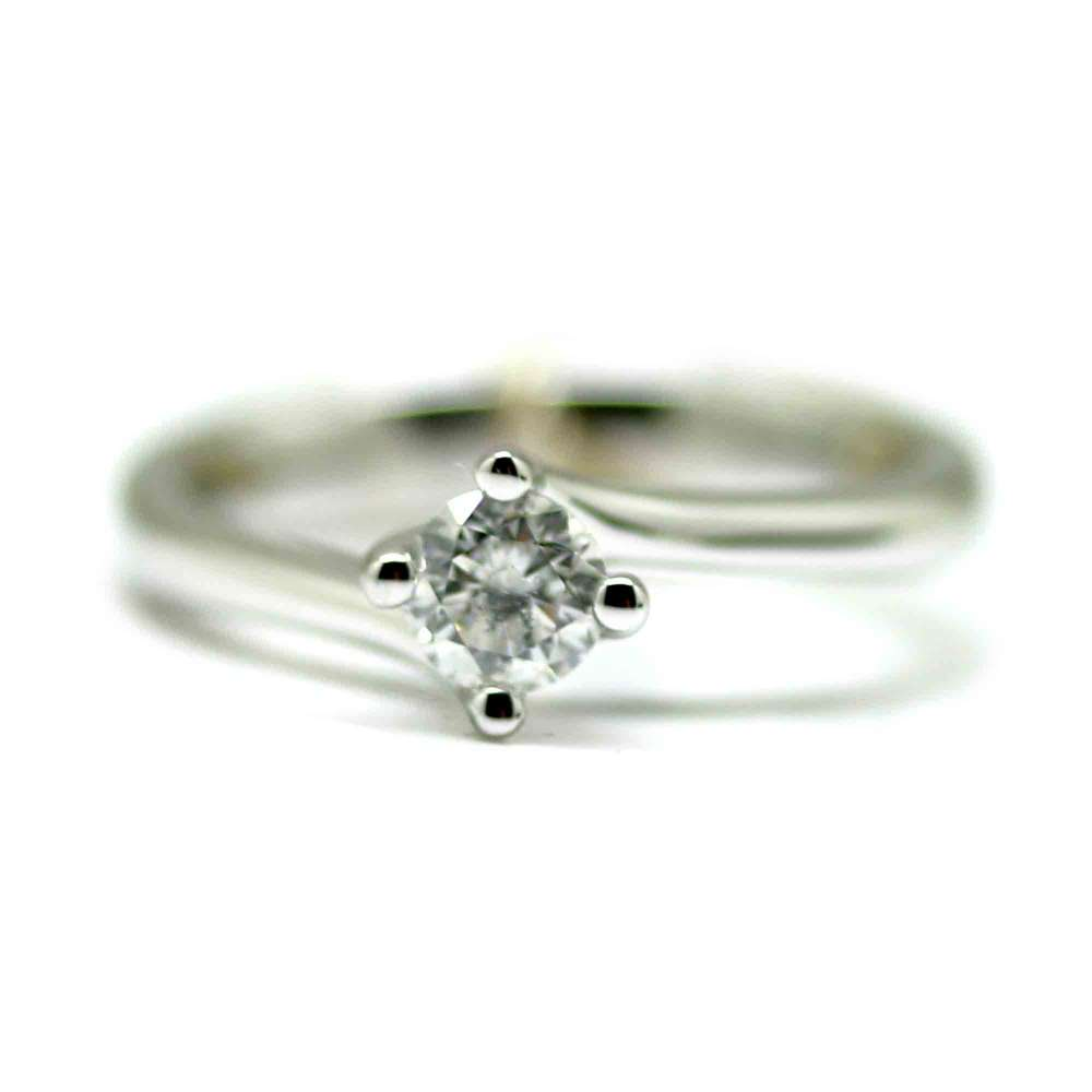 Engagement Ring 0.40 Ct