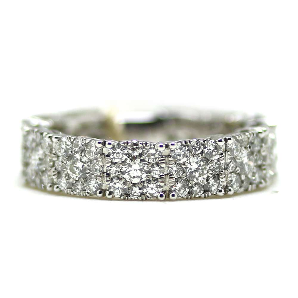 Anillo Oro Blanco 18Kl & Diamante 2.25 Ct