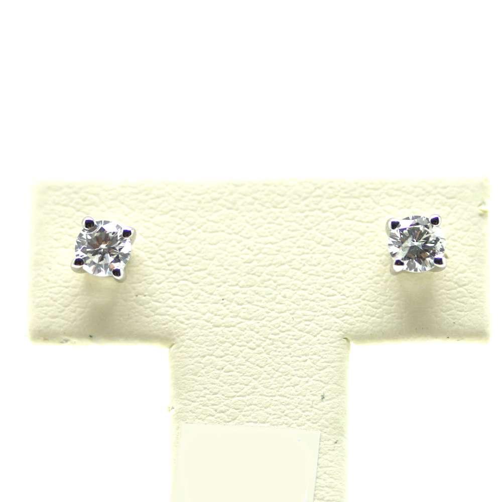 Ohrringe Weißgold 18 Kl. 0,40 CT