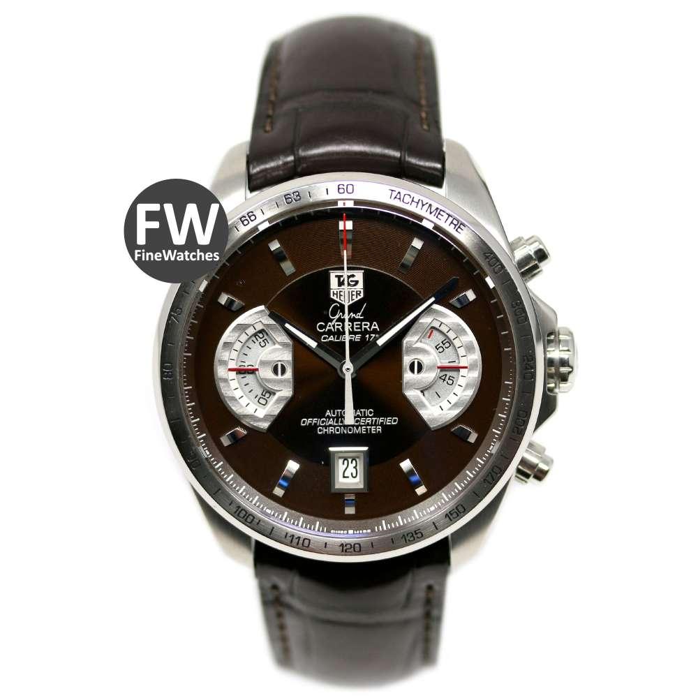 TAG Heuer Grand Carrera 43mm Calibre 17RS Chronometer Chronograph