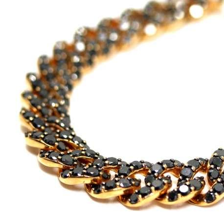 18k Gold Bracelet with Diamonds