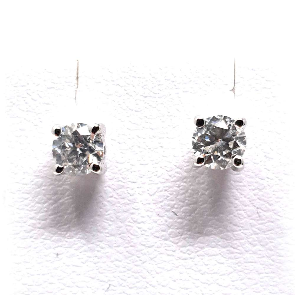 Earrings White Gold 18 Kl. 0,51 CT