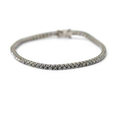 Bracelet Rivier 18k white gold and brilliant