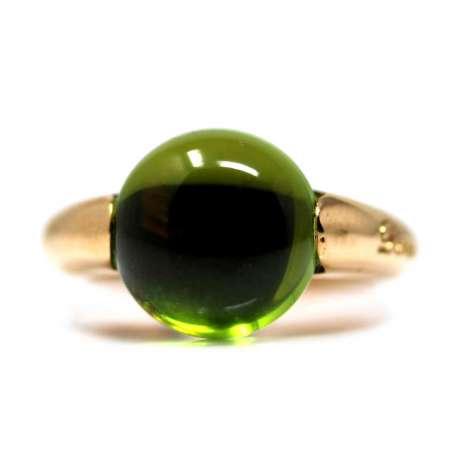 18kte Rose Gold Ring Cabochon Quartz