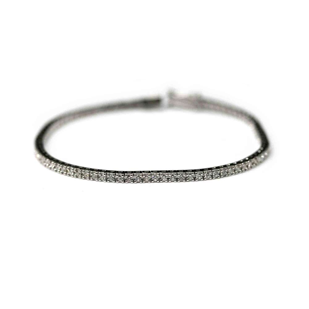 Bracelet Rivier 18k white gold and brilliant