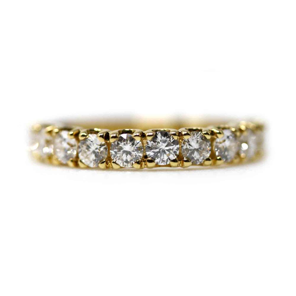 Yellow Gold Ring & Diamond 1,06Cts