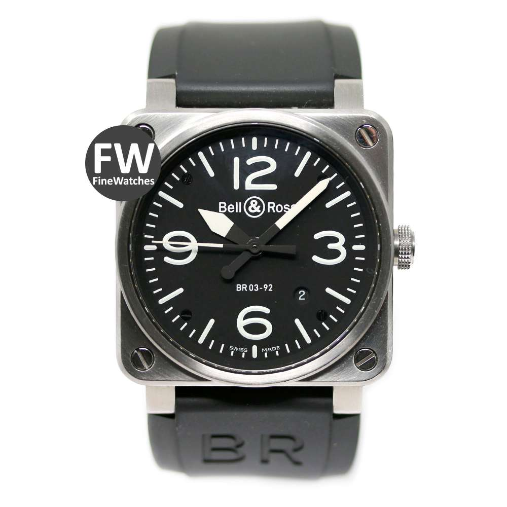 Bell & Ross BR03 Auto Black