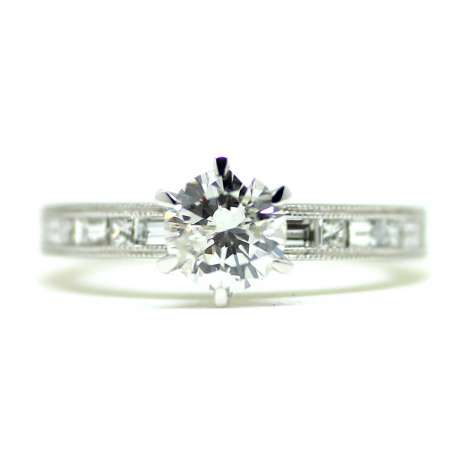 Engagement Ring 1,09 Ct