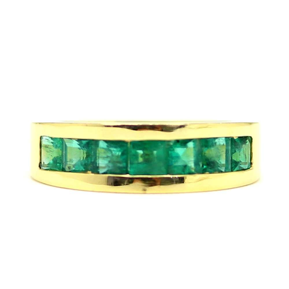 0,80 Ct Smaragd