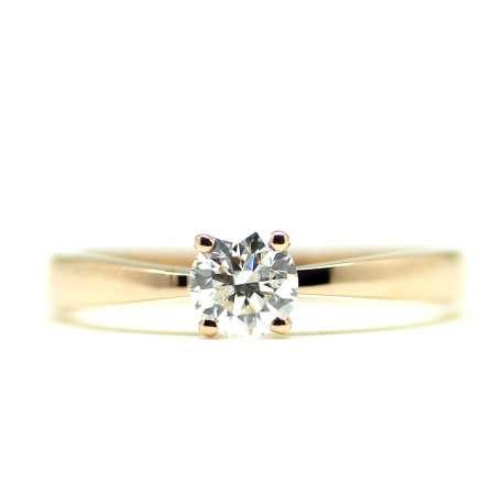 Engagement Rose Gold & Diamond 0.50 Ct