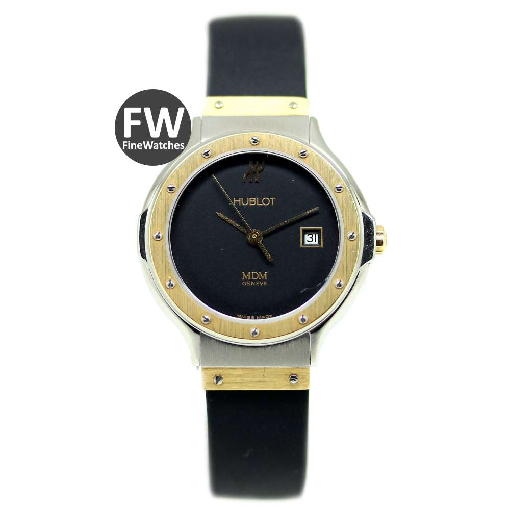 Hublot Classic Steel & Gold Lady